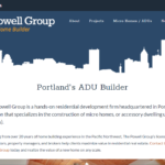 The Powell Group, micro home builder in Portland, Oregon